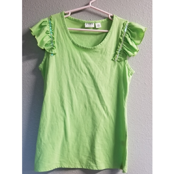 Cato Other - Cato Girl's Cap Sleeve Shirt